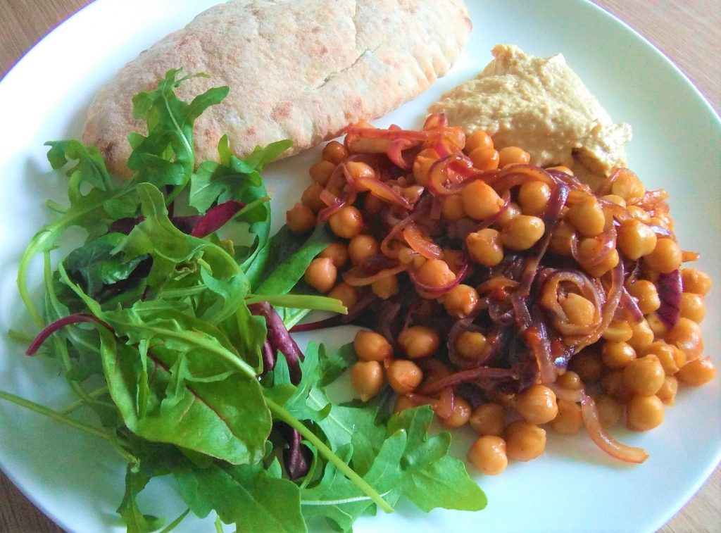 chickpea harissa plate edit